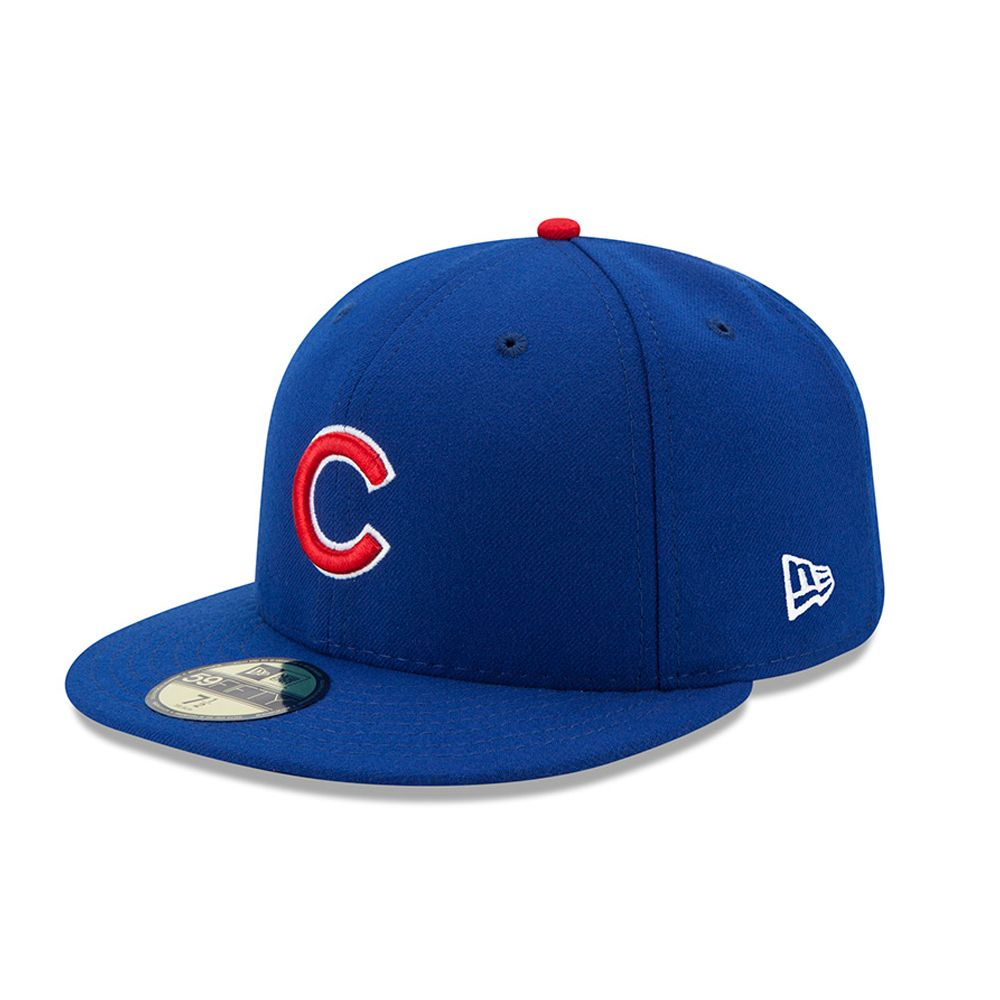 Chicago Cubs Authentic On-Field Game 59FIFTY bleu