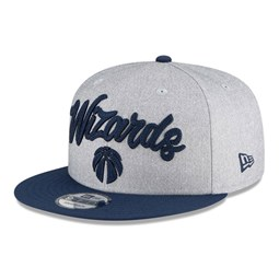 Washington Wizards NBA Draft Grey 9FIFTY Cap