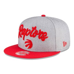 Toronto Raptors NBA Draft Grey 9FIFTY Cap