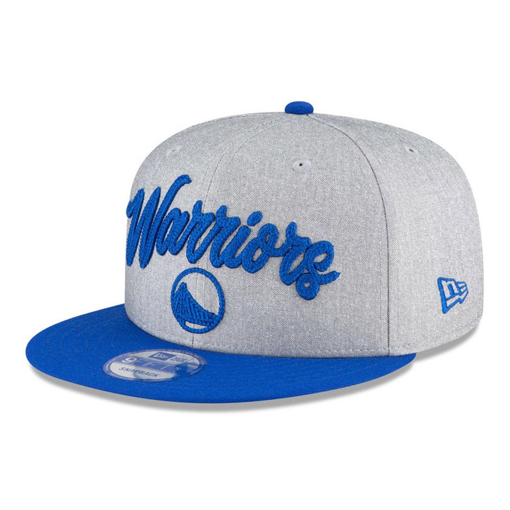 Golden State Warriors NBA Draft Grey 9FIFTY Cap