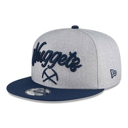 Denver Nuggets NBA Draft Grey 9FIFTY Cap