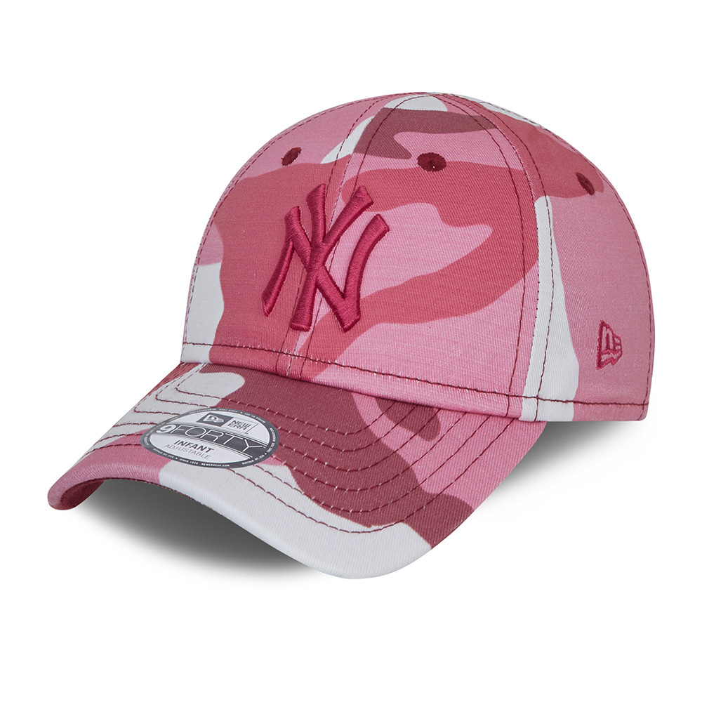 New York Yankees City Camo Infant Pink 9FORTY Cap
