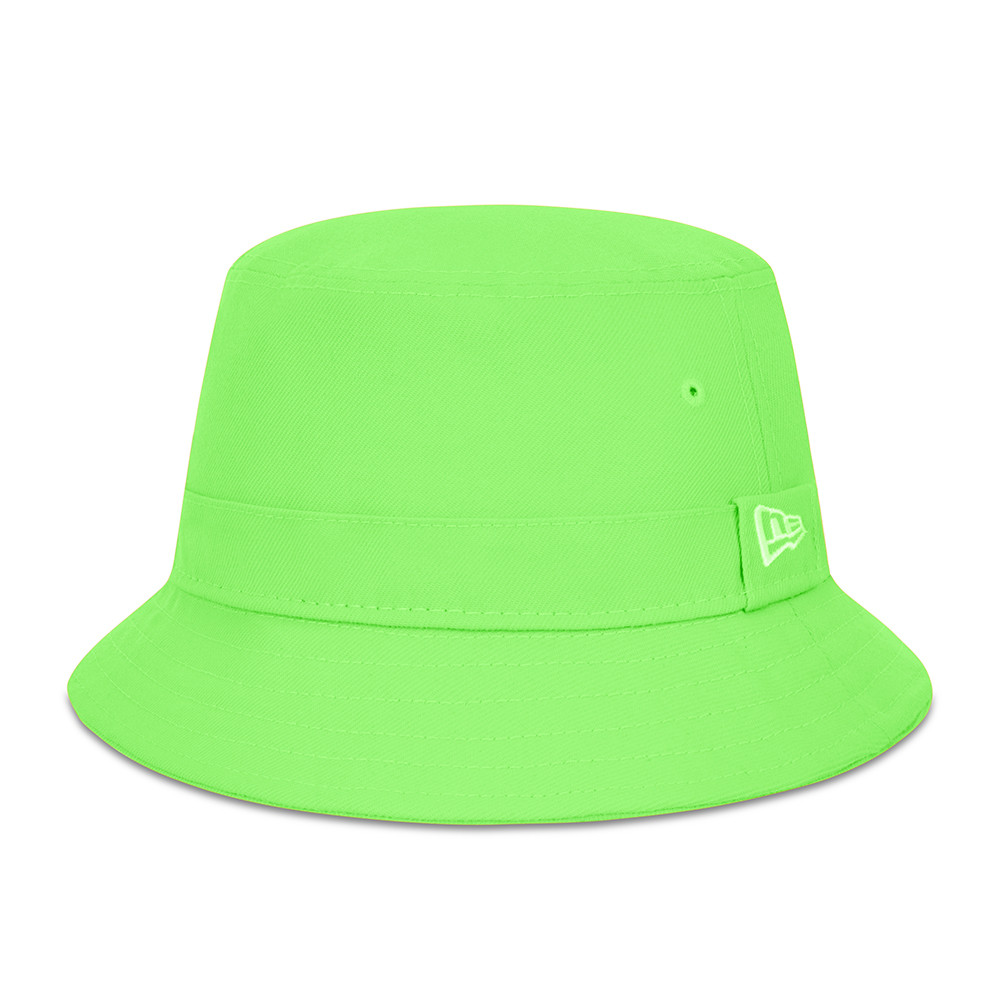 New Era Essential Green Bucket Hat