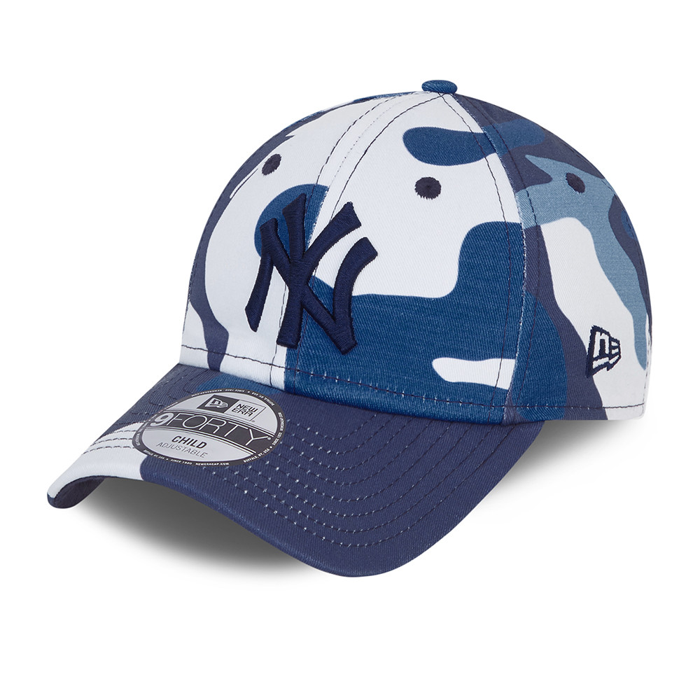 New York Yankees City Camo Kids Blue 9FORTY Cap