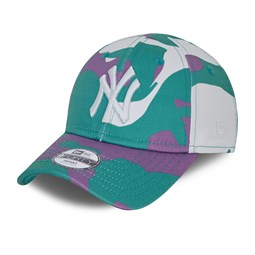 New York Yankees City Camo Infant Turquoise 9FORTY Cap