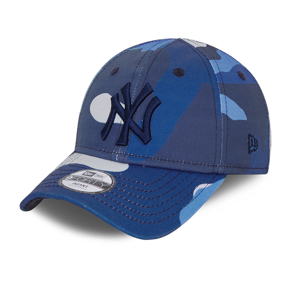 New York Yankees City Camo Infant Blue 9FORTY Cap