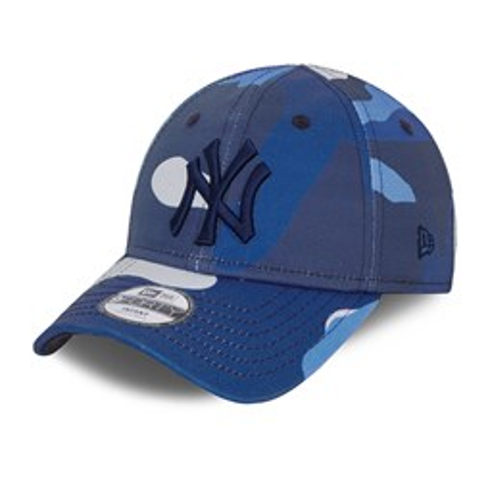 Cappellino 9FORTY City Camo New York Yankees blu bambino