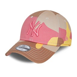 9FORTY – New York Yankees – City Camo – Kleinkinderkappe in Rosa