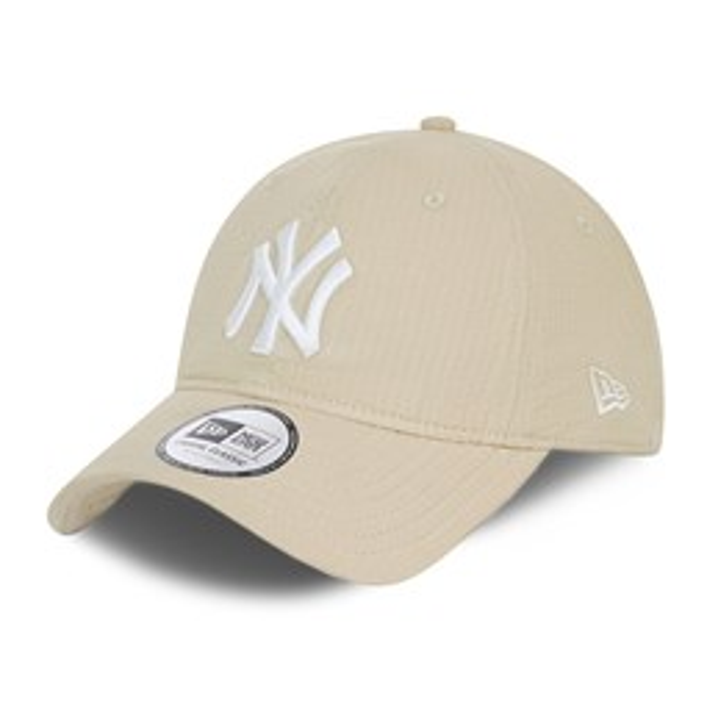 Cappellino New York Yankees Seersucker Casual Classic grigio pietra