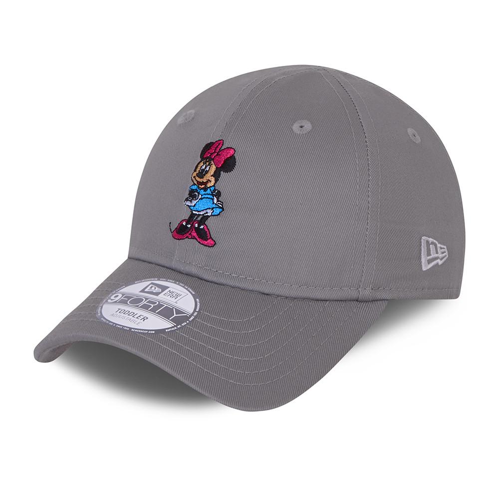 9FORTY – Kleinkindkappe in Grau mit Minnie-Maus-Figur
