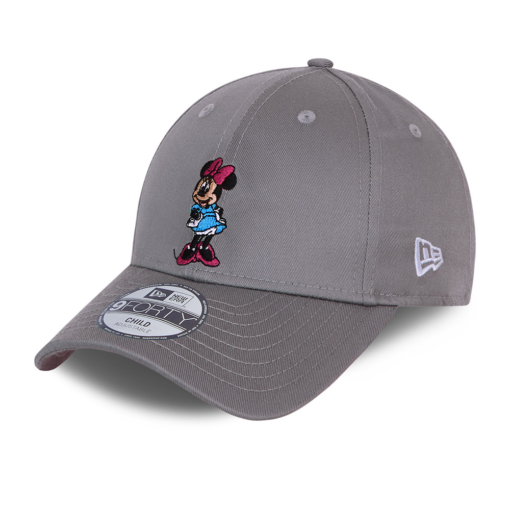 Cappellino 9FORTY Minnie Mouse Character grigio bambino