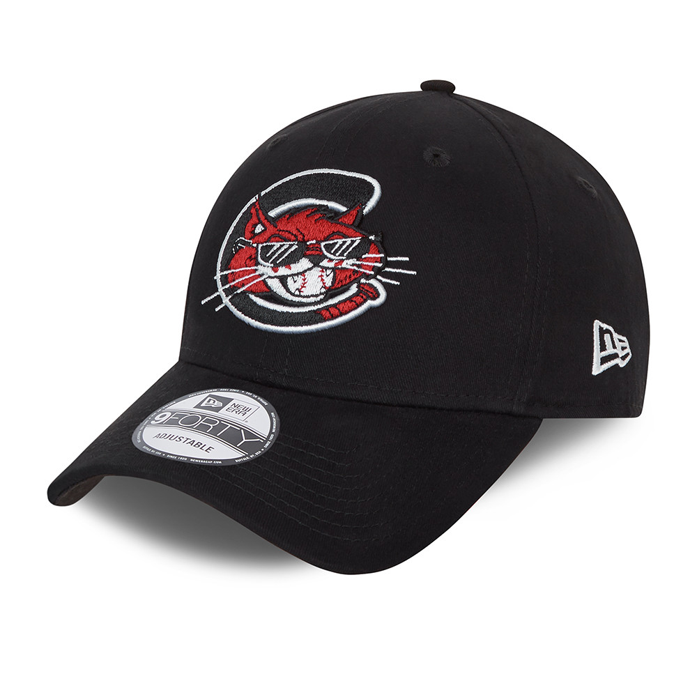 Cappellino 9FORTY MiLB Charleston Alley Cats nero