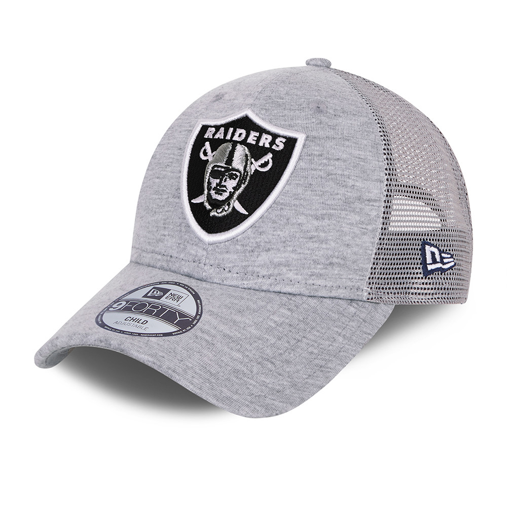 Casquette Las Vegas Raiders Home Field 9FORTY Trucker Gris Enfant