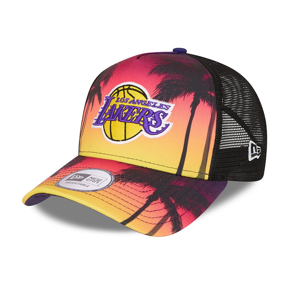 Cappellino Trucker A-Frame Summer City  dei LA Lakers nero