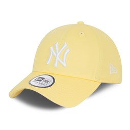 New York Yankees Washed Yellow Casual Classic Cap
