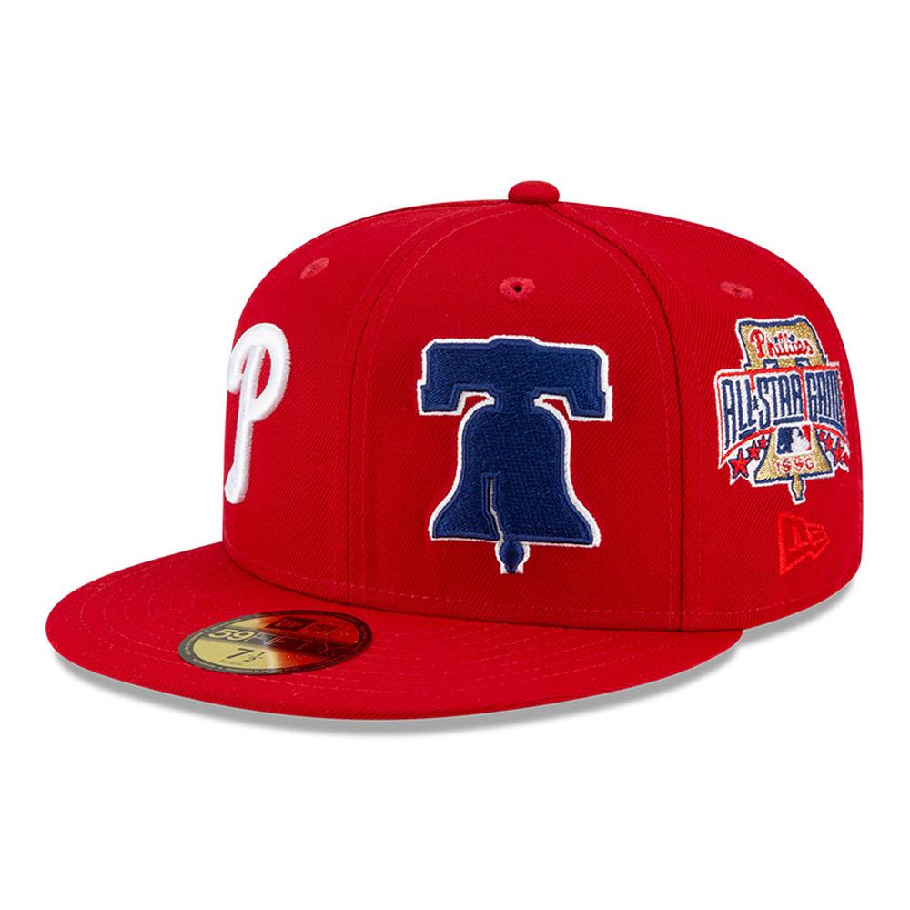 Casquette59FIFTY Philadelphia PhilliesMLBTeam Pride, rouge
