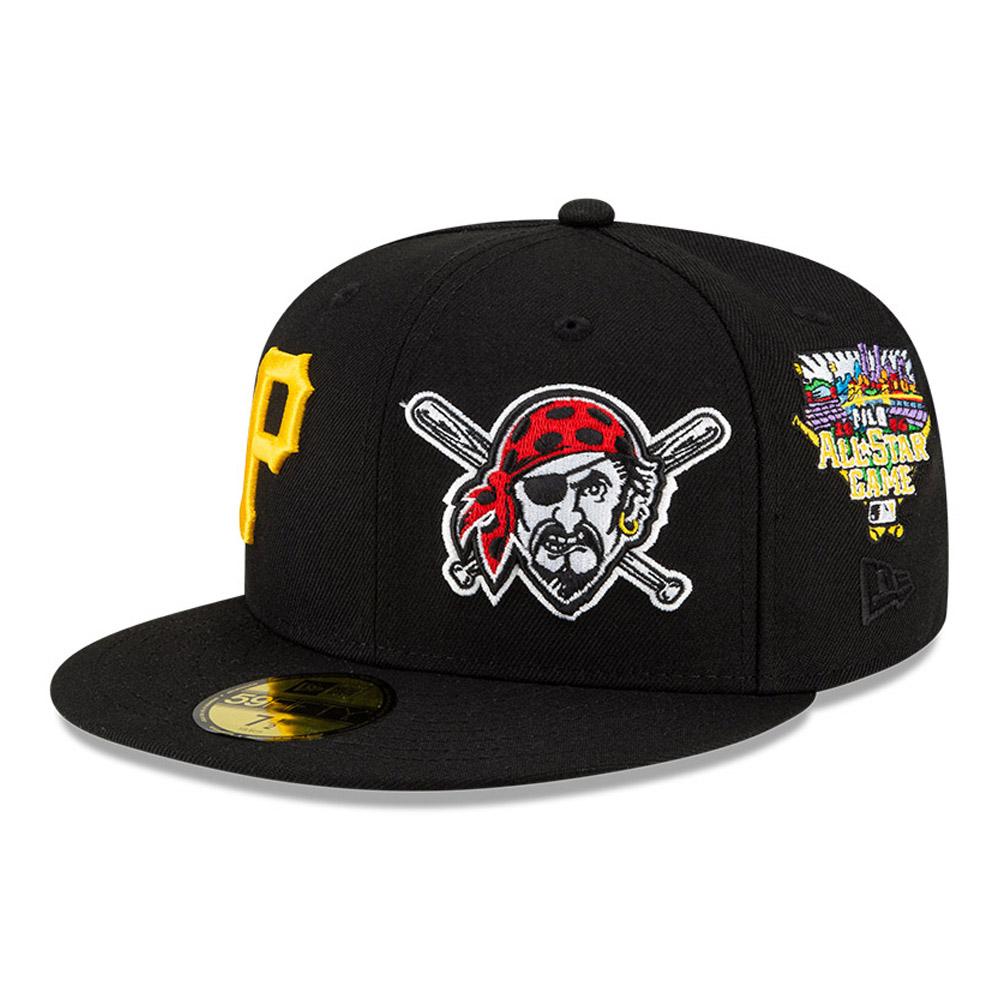 Casquette59FIFTYMLBTeam PridePittsburgh Pirates, noir