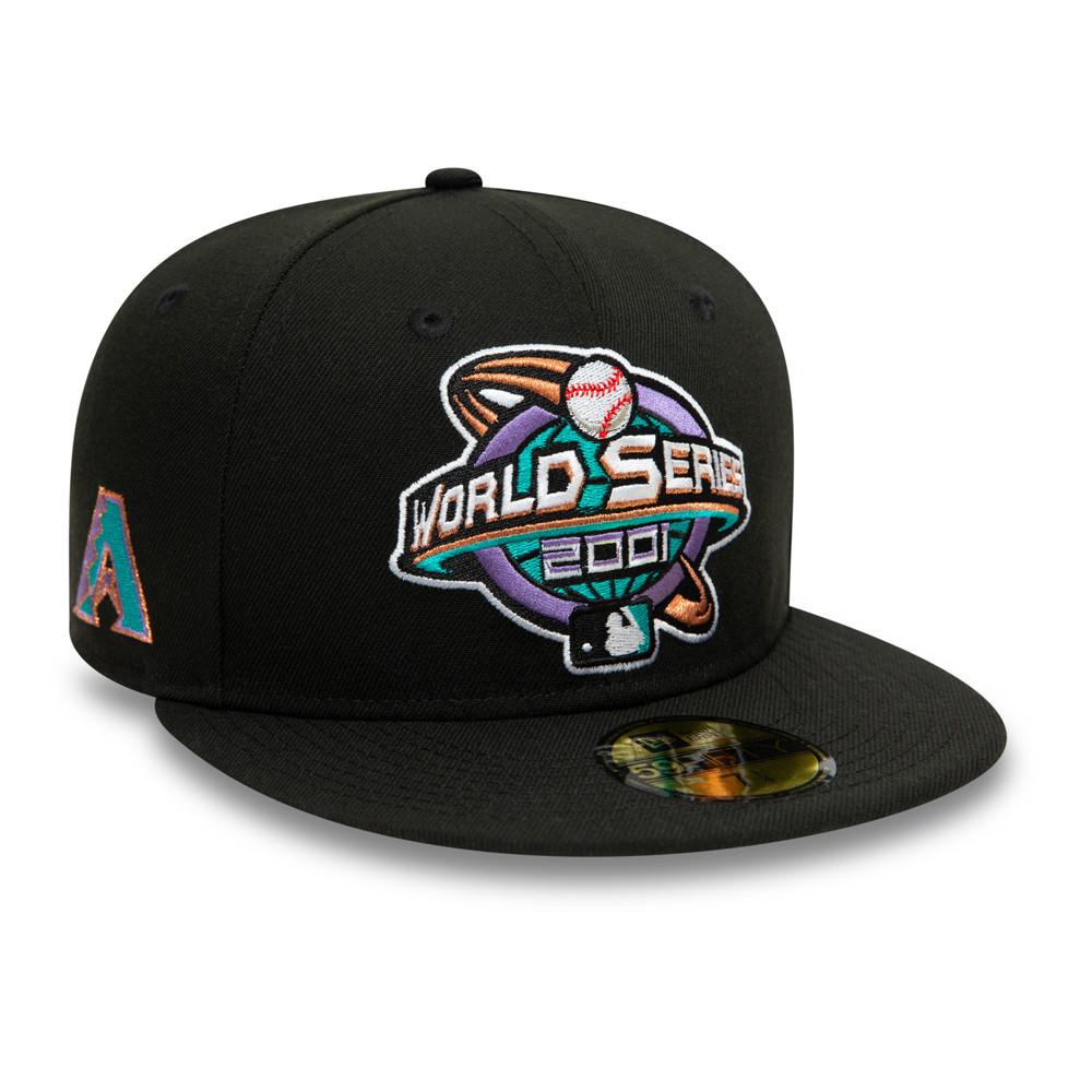 Casquette 59FIFTY MLB World Series Arizona Diamondback, noir