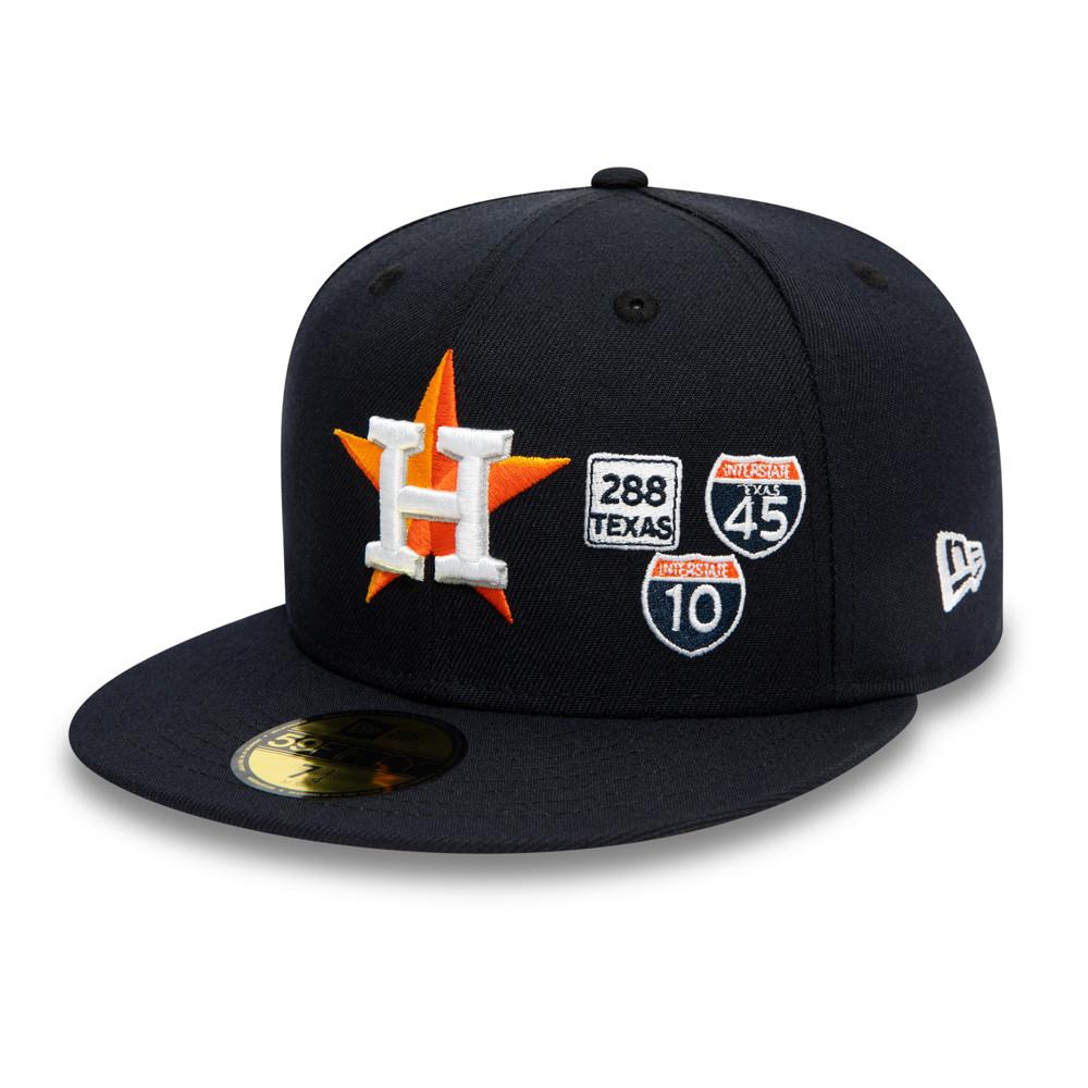 Casquette 59FIFTY MLB Interstate Houston Astros, bleu marine