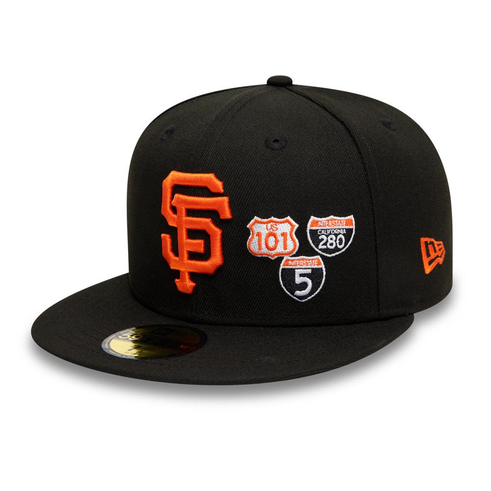 Casquette 59FIFTY MLB Interstate San Francisco Giants, noir