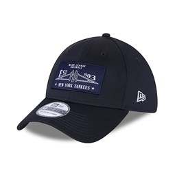 Casquette 39THIRTY Team Patch des New York Yankees, bleu marine