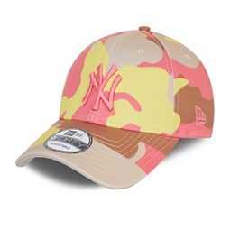Casquette 9FORTY Camo Pack des New York Yankees, grège