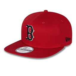 Boston Red Sox League Essential Red 9FIFTY Cap