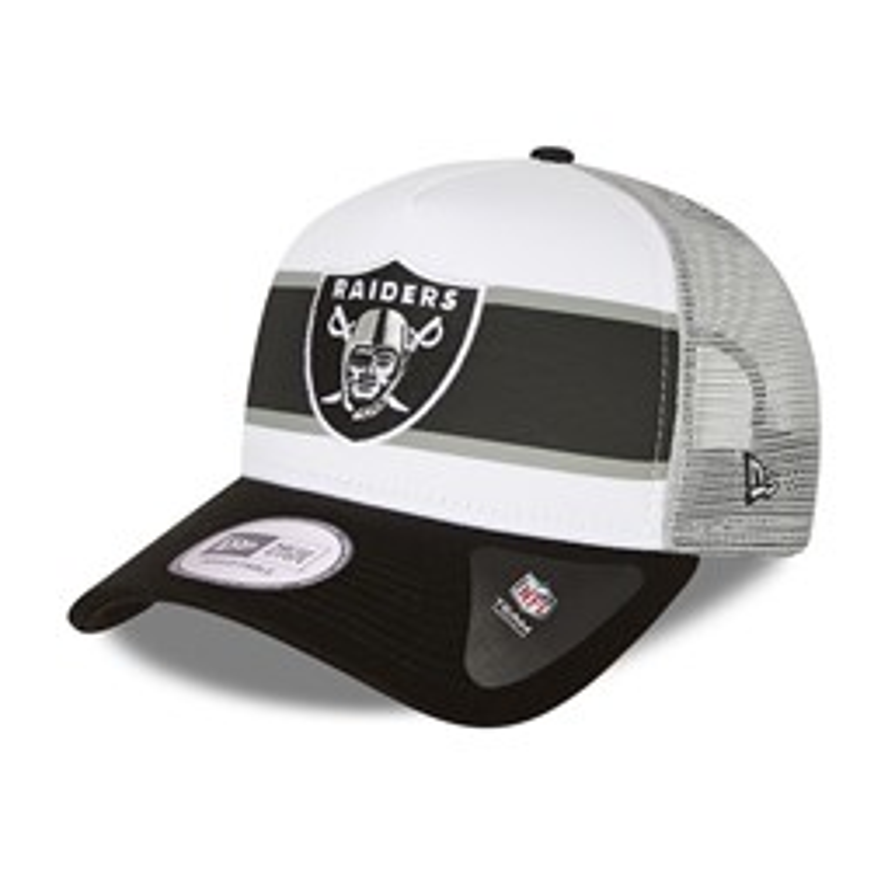 Trucker – Las Vegas Raiders – Retro – A-Frame-Kappe in Weiß