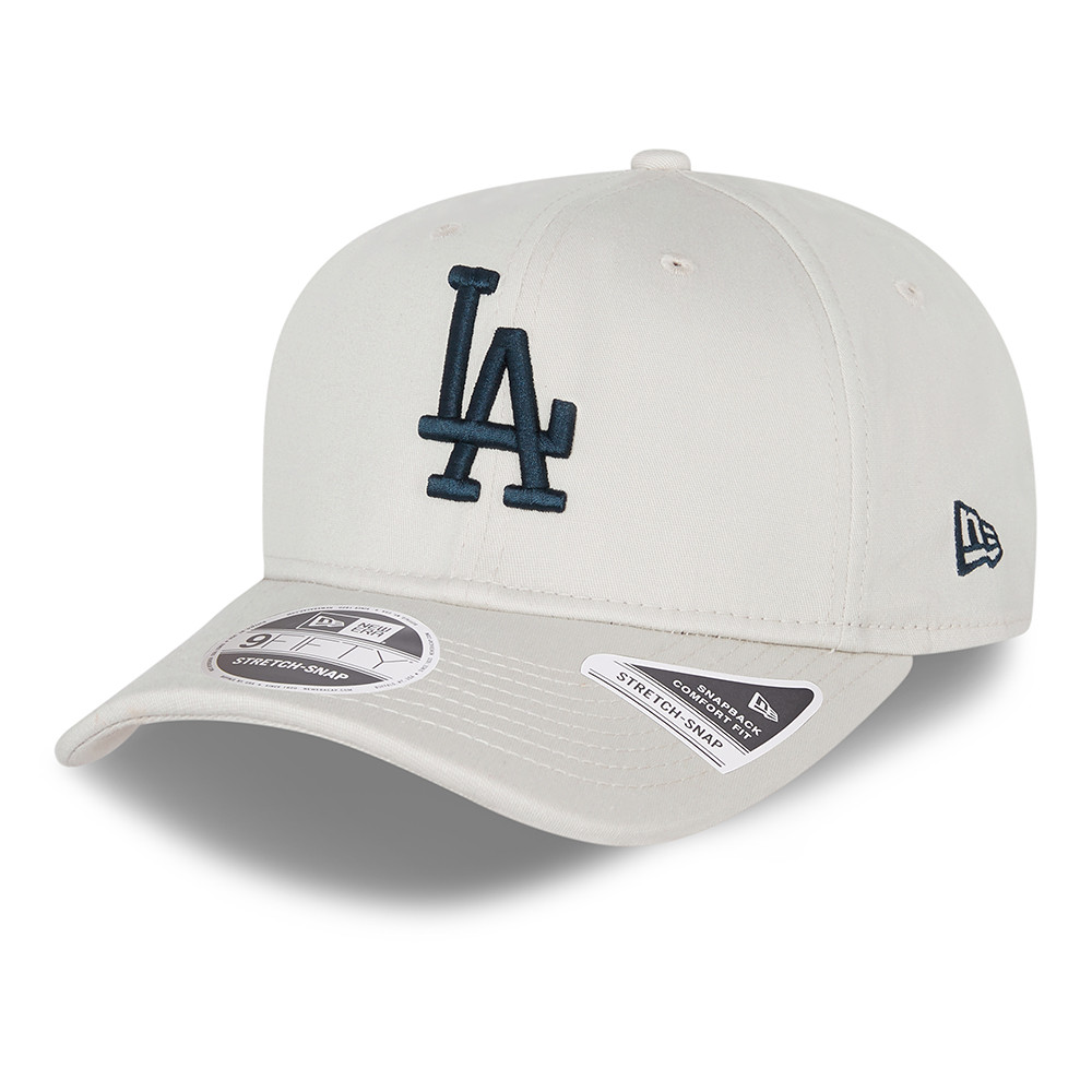 LA Dodgers League Essential Stone 9FIFTY Stretch Snap Cap