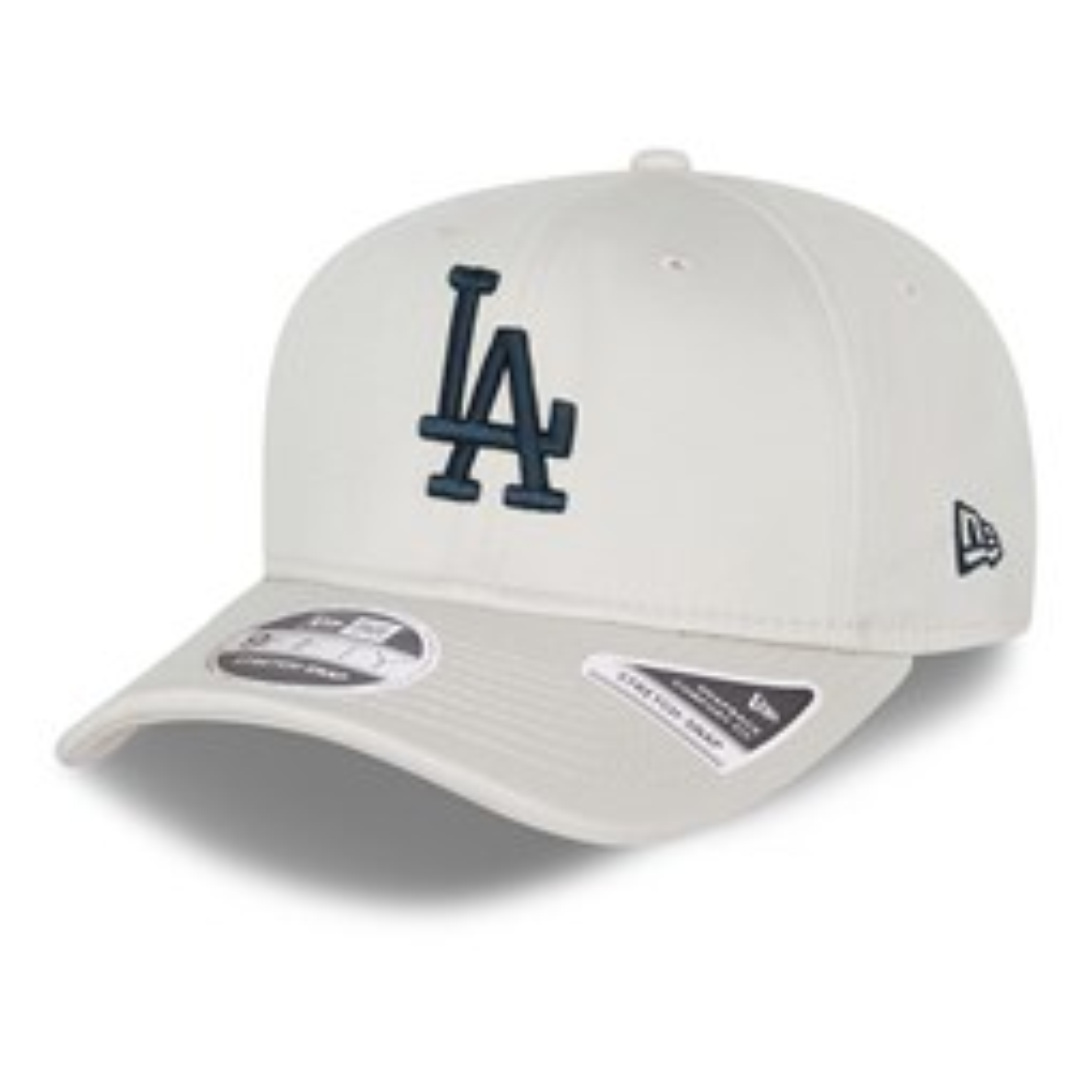 Cappellino 9FIFTY Stretch Snap League Essential degli LA Dodgers grigio pietra