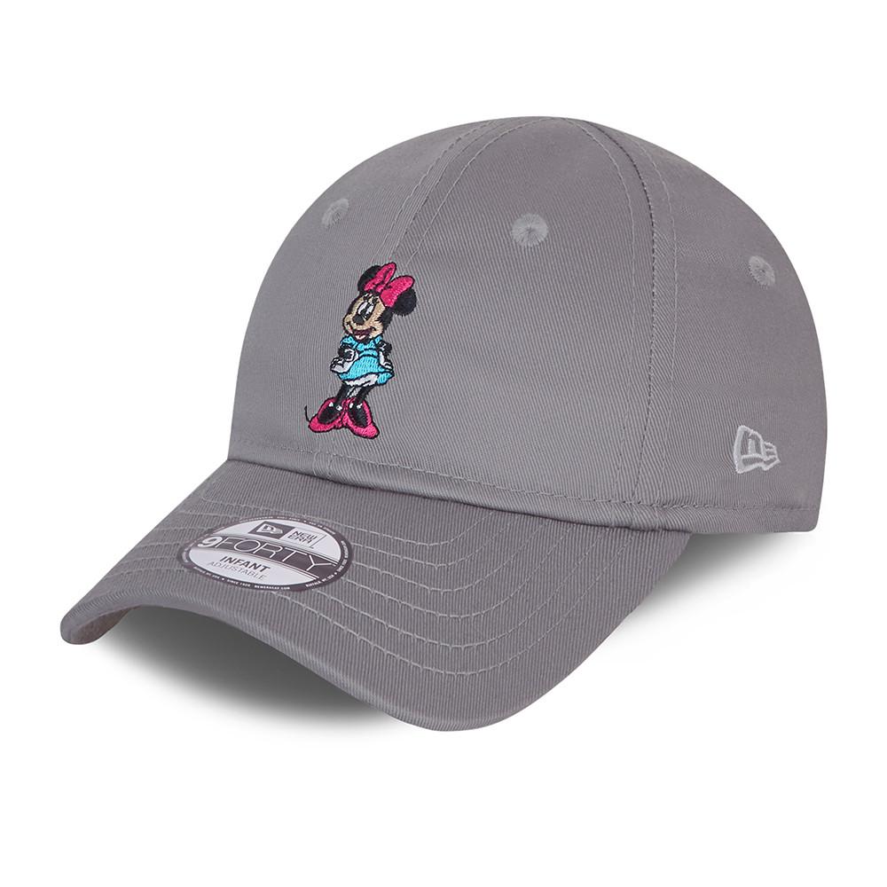 Cappellino 9FORTY Minnie Mouse Character grigio neonato