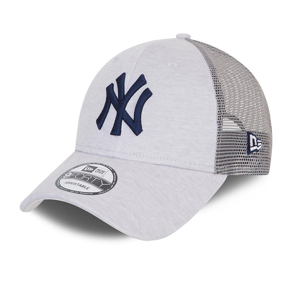 Casquette 9FORTY Home Field Trucker des Yankees de New York, grise