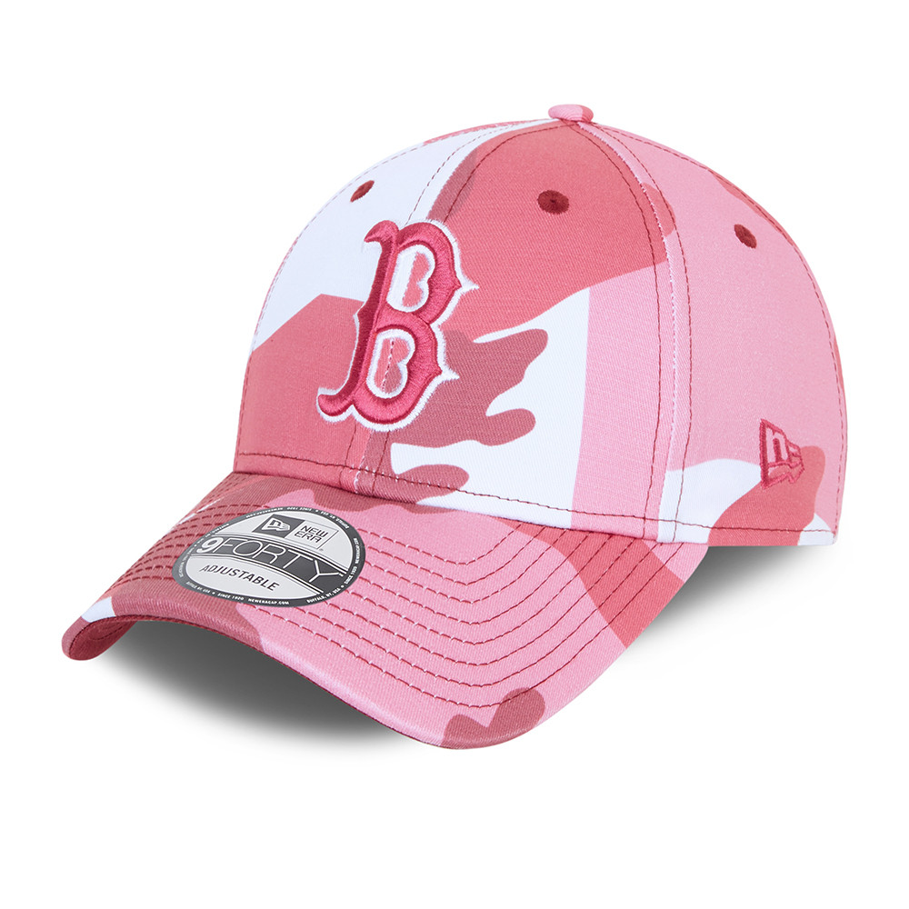 Casquette Boston Red SoxCamo Pack 9FORTY Rose