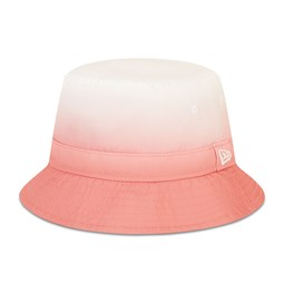 New Era Dipped Colour Womens Pink Bucket Hat