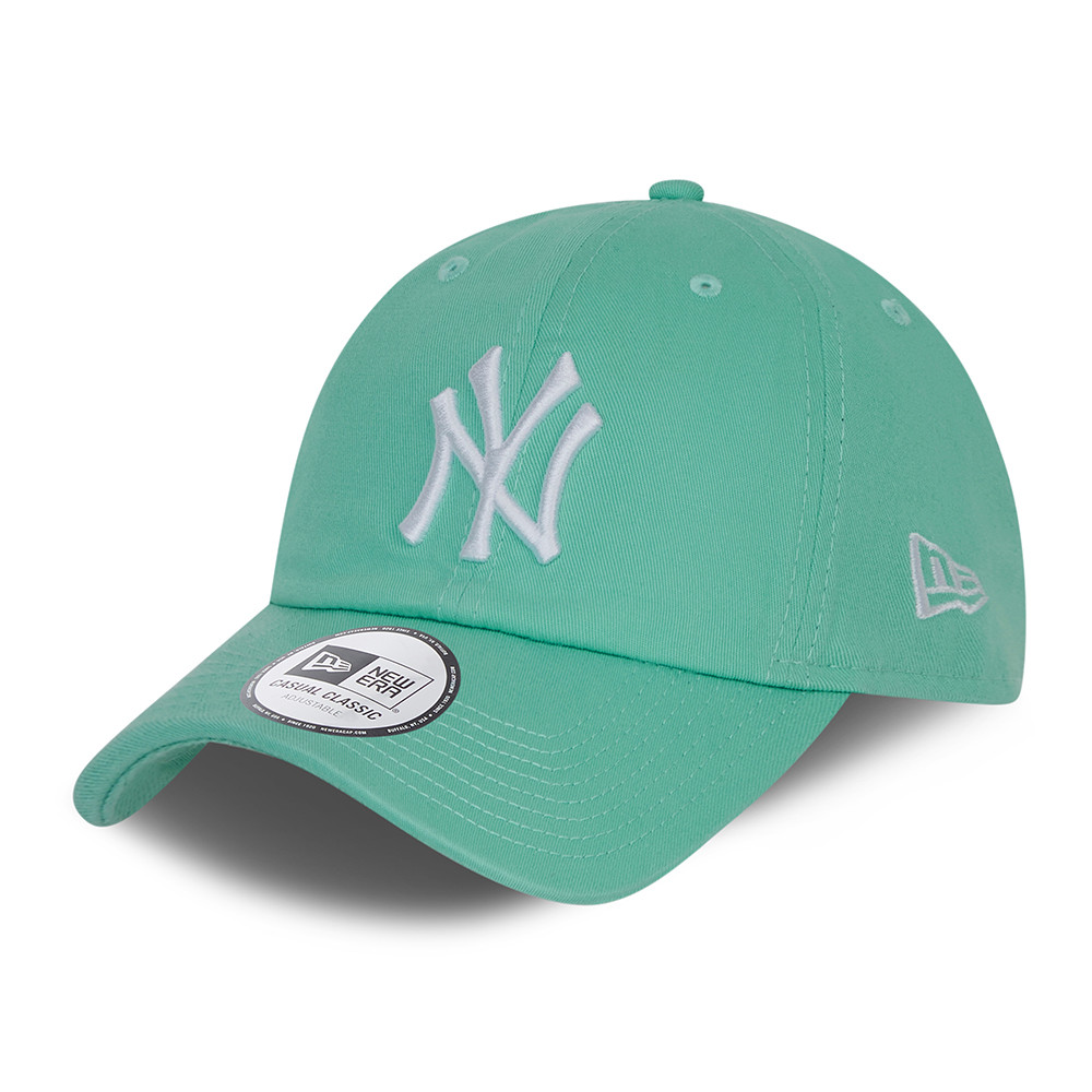 New York Yankees – Casual Classic – Kappe in Türkis in Washed-Optik
