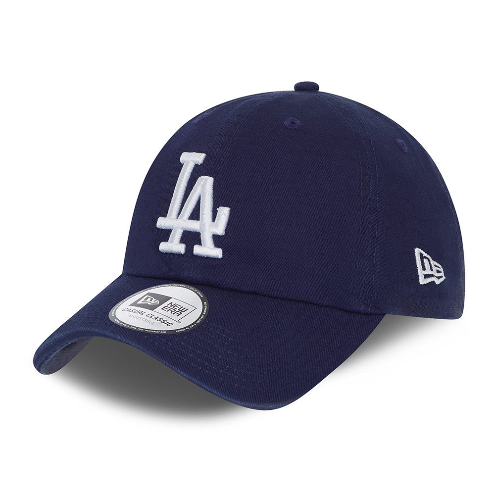 LA Dodgers – Casual Classic – Kappe in Blau mit Waschung