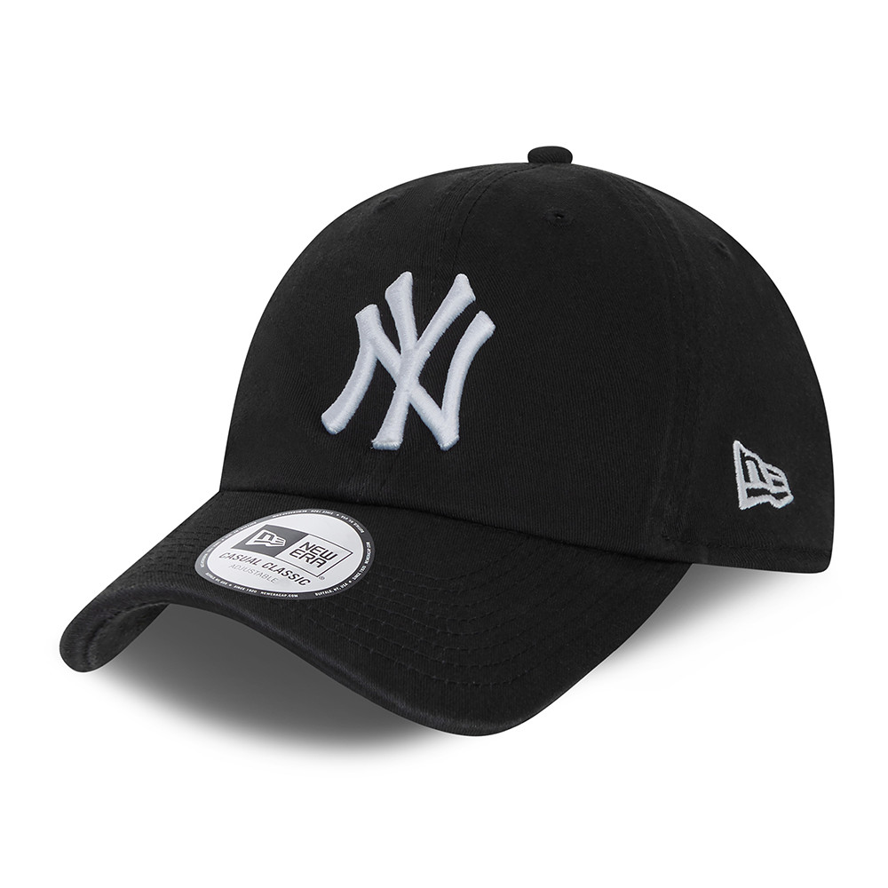 New York Yankees – Casual Classic – Kappe in Schwarz mit Waschung