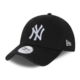 New York Yankees Washed Black Casual Classic Cap