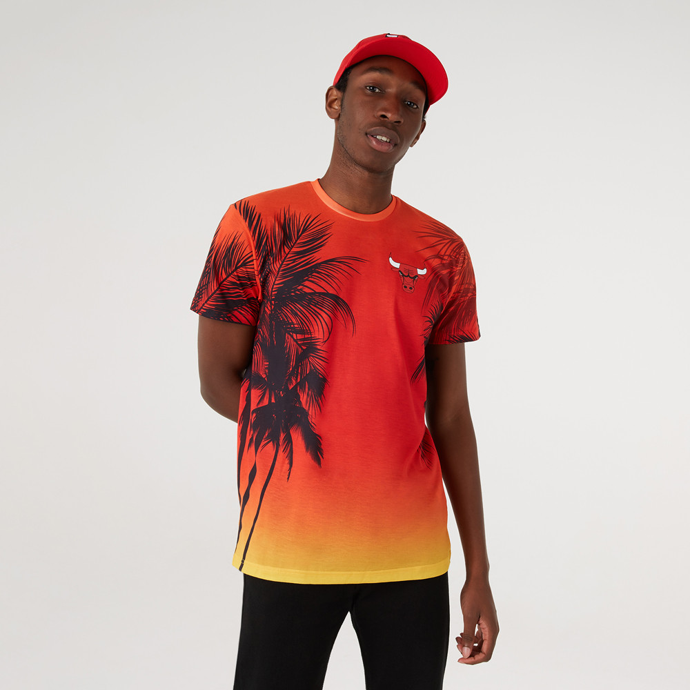 T-shirt imprimé Summer City des Chicago Bulls