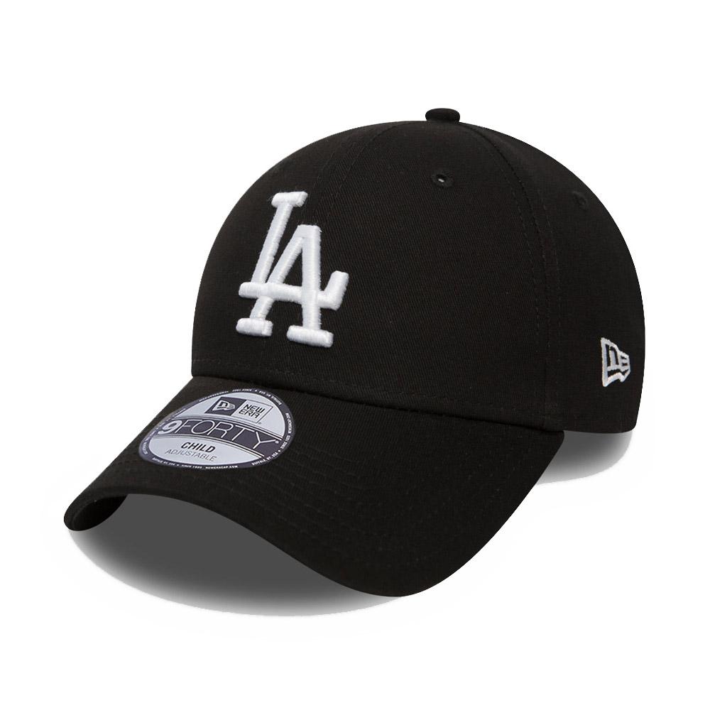Casquette 9FORTY LA Dodgers noire pour enfant