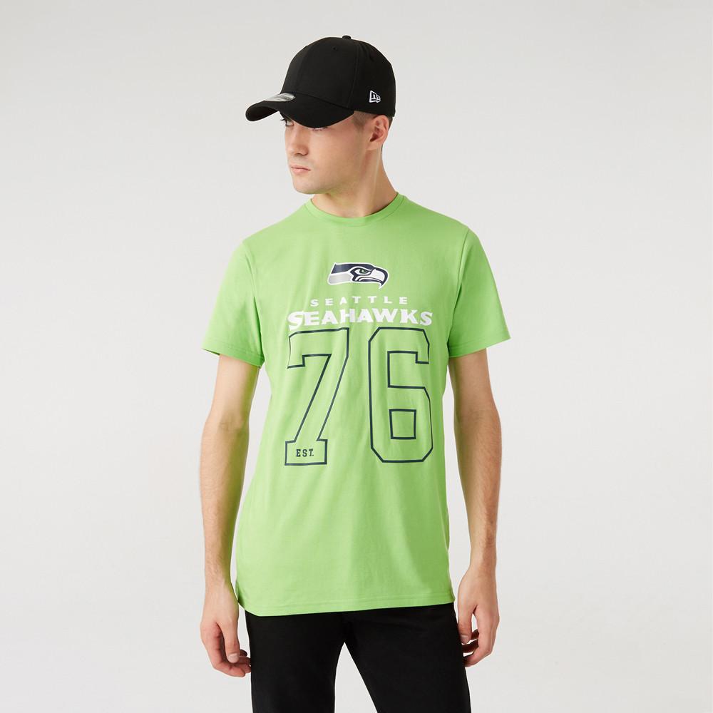 T-shirt On Field dei Seattle Seahawks verde