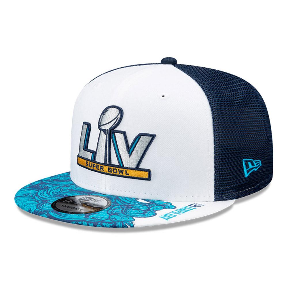 Cappellino Trucker 9FIFTY Super Bowl LV blu