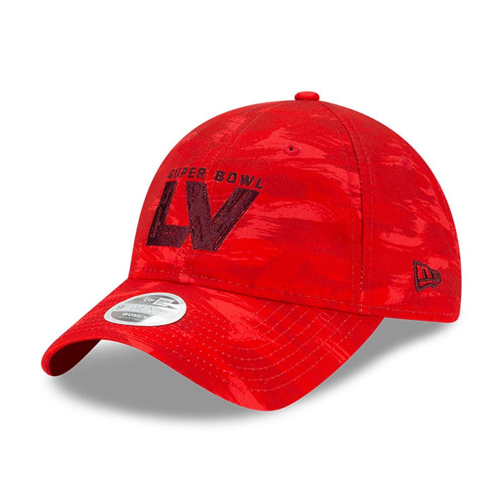 Cappellino 9TWENTY Super Bowl LV rosso donna