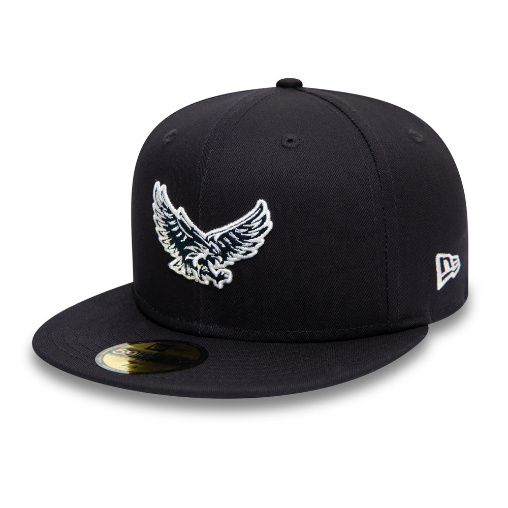 Casquette 59FIFTY Elias x New Era Flyest Eagle, bleu marine