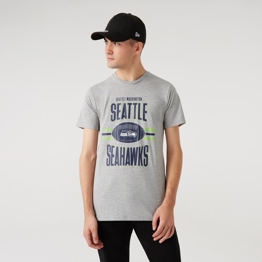 T-Shirt de Football des Seattle Seahawks gris