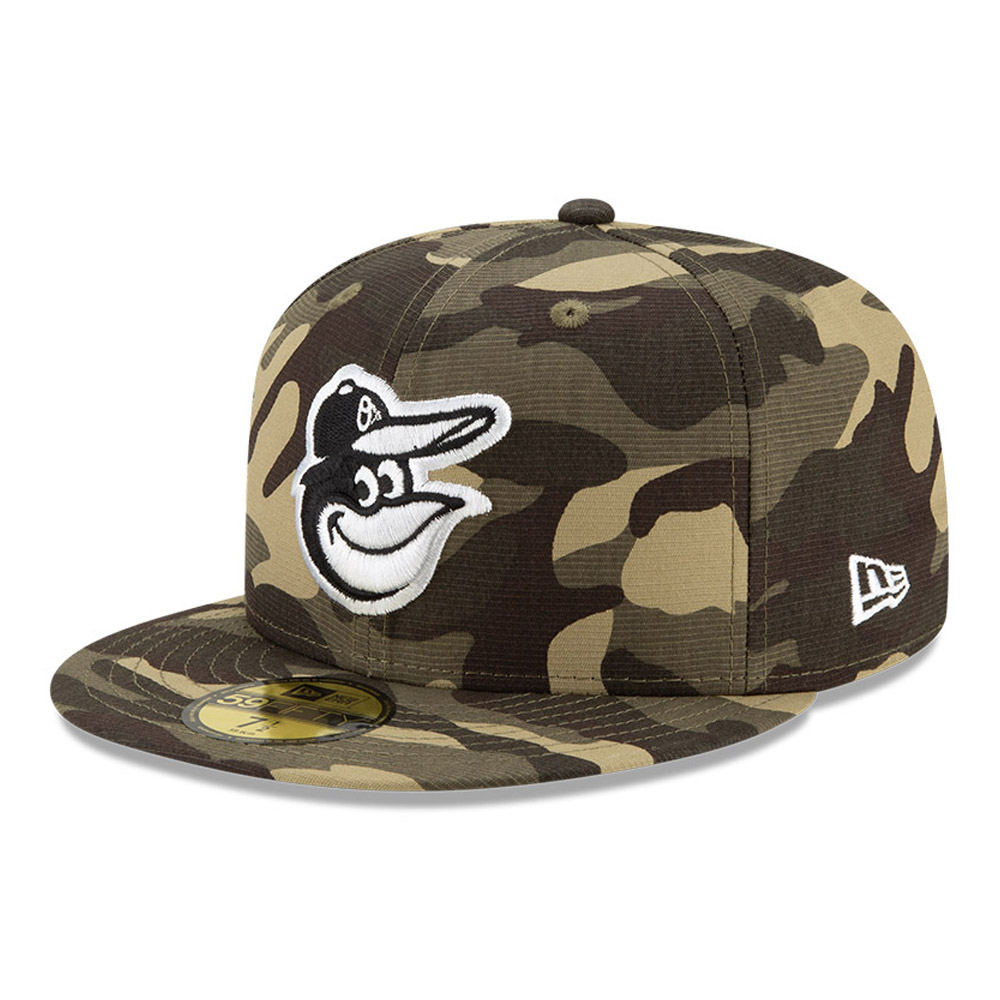 Casquette59FIFTYBaltimore OriolesMLBArmed Forces