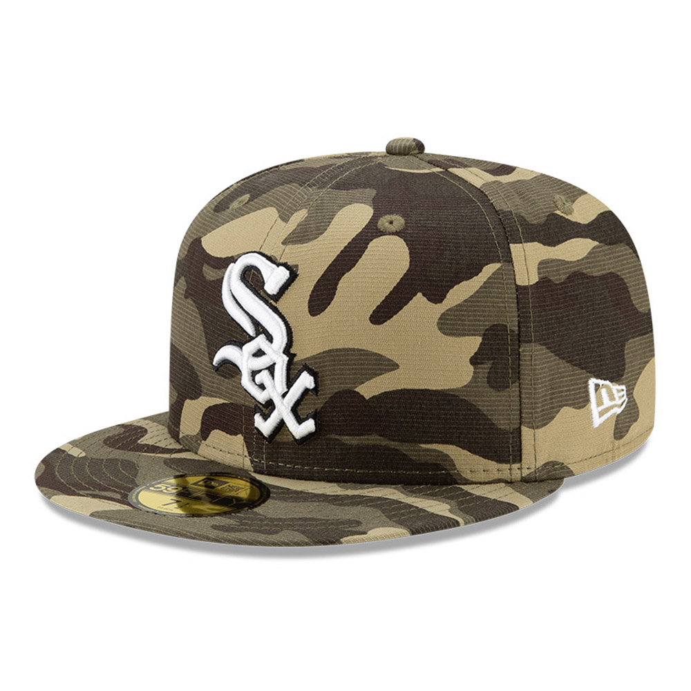 Casquette59FIFTY MLBArmed Forces des Chicago White Sox