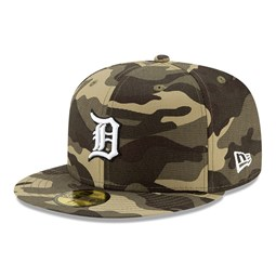 Detroit Tigers MLB Armed Forces 59FIFTY Cap