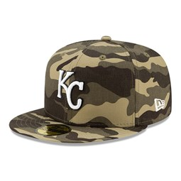 Kansas City Royals MLB Armed Forces 59FIFTY Cap