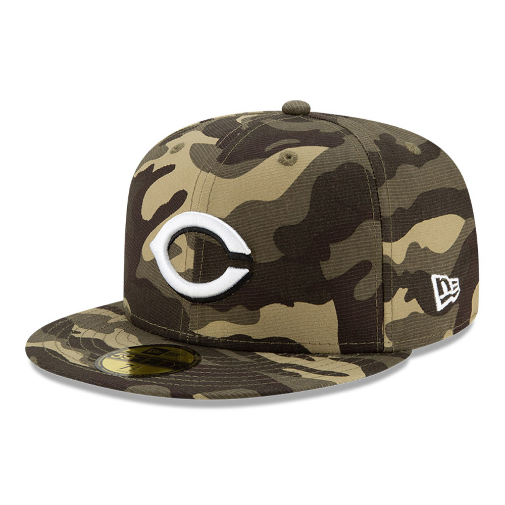Casquette 59FIFTY MLB Armed Forces des Cincinatti Reds